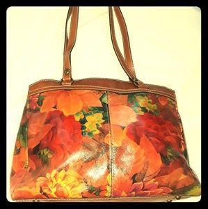 Handbags - Patricia Nash Italian leather handbag